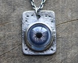 observant eyeball necklace