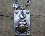 heart scarab necklace